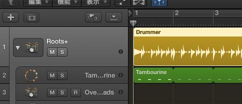 Drummerトラックの音数を増やす